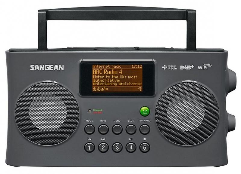 Sangean WFR-29D Internet radio met DAB+ en FM