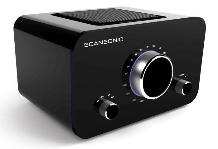Scansonic R2 FM Radio