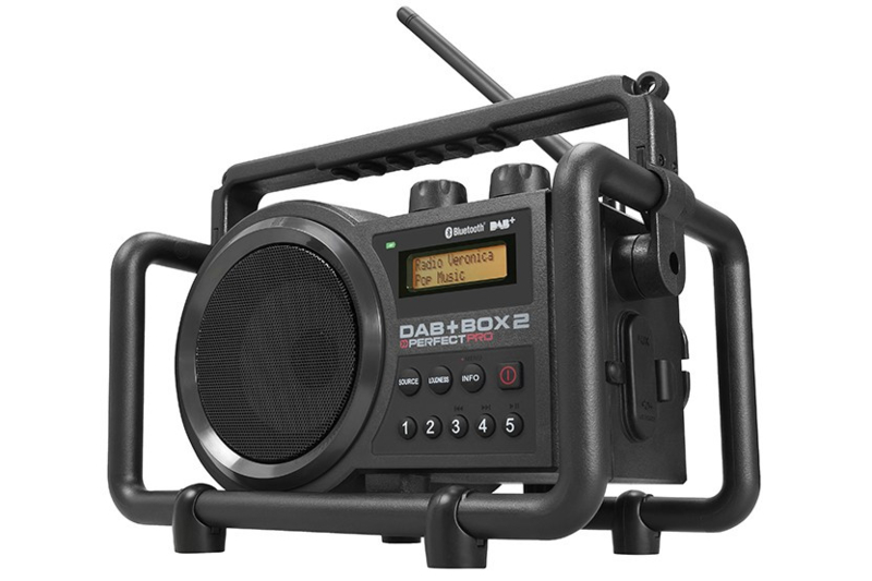 Perfectpro DAB+ BOX 2 werkradio met DAB+, FM en Bluetooth