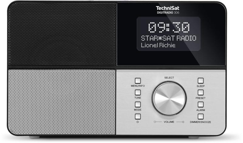 TechniSat DigitRadio 306 digital radio DAB+ en FM