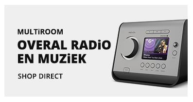 Radiowinkel.com multiroom overal radio en muziek