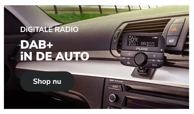 Radiowinkel.com Digitale radio DAB+ in de auto