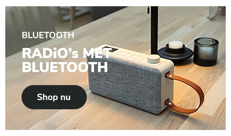 Radiowinkel.com radio met bluetooth