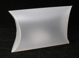 Pillow-Pack, medium, 32x08x23 cm, FROSTED WHITE, verpakt per 100 stuks