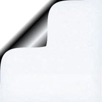 Vlakke kadozakjes Glossy; 0674-uni 12x19 cm, verpakt per 1.000 stuks, Wit