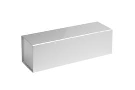 Magneetdoos glans gelamineerd, 33x10x10cm, verpakt per 25 stuks. Rood, zilver of goud.