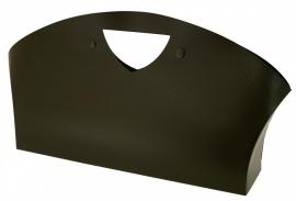 Frosty Beauty Bag, BLACK, 34x7,5x20 cm, verpakt per 100 stuks.