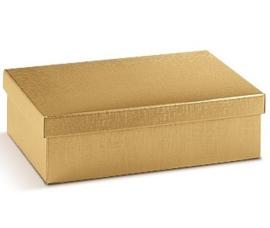 Geschenkdoos CLASSIC formaat 30x20x10cm, goud, verpakt per 10 stuks
