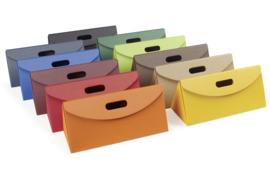 Triangel, 35,5x14x15cm, verpakt per 35 stuks (diverse kleuren)