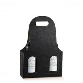 Bottle Bag 3-flessen, 27x9x41cm, verpakt per 40 stuks (diverse kleuren)3