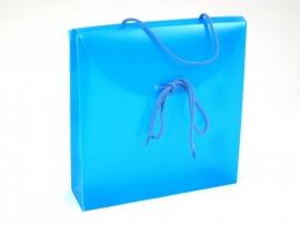 Geschenkverpakkingen: Gift Bag, 24x6x26cm, BLUE, verpakt per 50 stuks