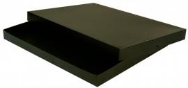 Gift Box A4, 32x23x2,5 cm, BLACK verpakt per 50 stuks