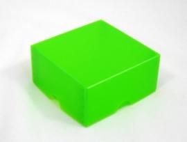 Gift Box, small 8x4x8 cm. APPLEGREEN, verpakt per 100 stuks