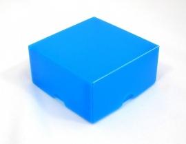 Gift Box, small 8x4x8 cm. BLUE, verpakt per 100 stuks