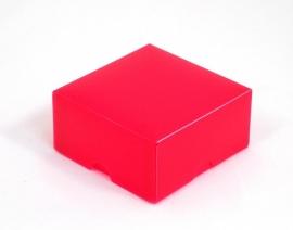 Gift Box, small 8x4x8 cm. DARKPINK, verpakt per 100 stuks