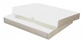Gift Box A5, 22x16x2,5 cm, WHITE, verpakt per 50 stuks