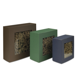 Smartbox venster, 25,5x18x70cm, verpakt per 50 stuks (diverse kleuren)