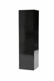 Magneetdoos glans gelamineerd, 33x9x9cm, verpakt per 25 stuks, zwart.