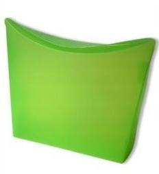 Colorz / small; 13,5x4x13,5cm, APPLE GREEN, verpakt per 100 stuks.