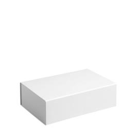 Gift Box DeLuxe; luxe geschenkdoos mat gelamineerd, WIT 20x13x7cm, verpakt per 50 stuks