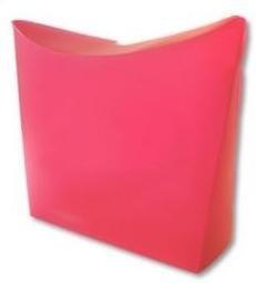 Colorz / small; 13,5x4x13,5cm, DARKPINK, verpakt per 100 stuks.