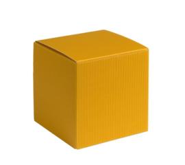 Qubus, 9x9x9cm, verpakt per 100 stuks (diverse kleuren)