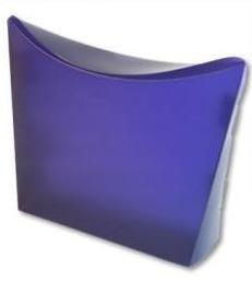 Colorz / medium; 20x6x20cm,VIOLET, verpakt per 100 stuks