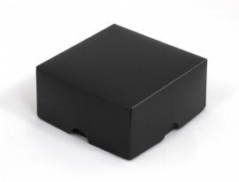 Gift Box, small 8x4x8 cm, BLACK verpakt per 100 stuks