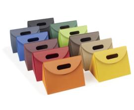 Triangel, 21x14x15cm, verpakt per 35 stuks (diverse kleuren)