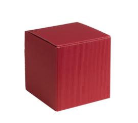 Qubus, 7x7x7cm, verpakt per 200 stuks (diverse kleuren)