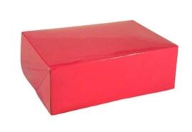 Gift Box GLOSSY 20x14x7cm, HOTPINK, verpakt per 100 stuks
