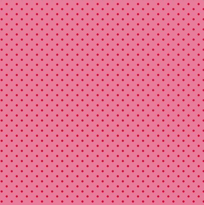 Inpakpapier glanzend 601732/1-30 LITTLE DOTS PINK