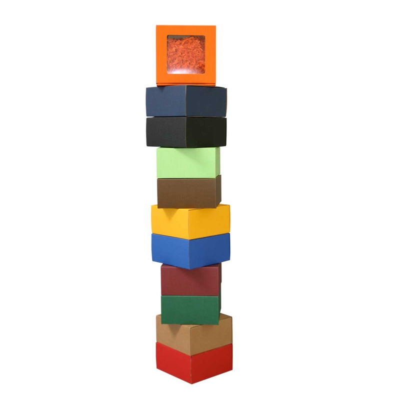Smartbox venster, 20x14x7cm, verpakt per 100 stuks (diverse kleuren)