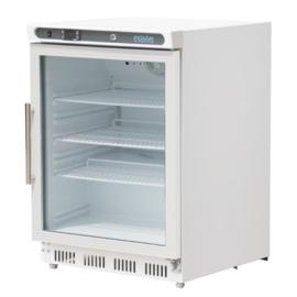Display koeling met glazen deur  150 Ltr