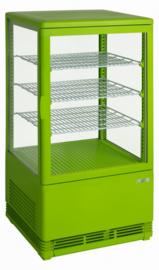 Mini Koelvitrine | opzet koeling vel groen