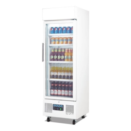 Glasdeur koelkast | Displaykoeling wit