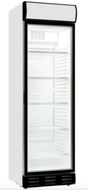 Horeca koelkast met glazen deur 382 Liter