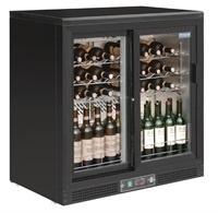Wijnkoelkast met 2 klapdeuren