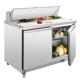 RVS saladette 2-deurs