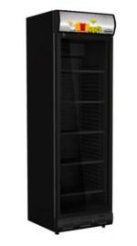 Glasdeur horeca koelkast | Displaykoelkast zwart
