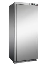 RVS koeling 600 liter, statisch gekoeld met ventilator
