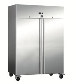 RVS koeling 1200 liter, geforceerd gekoeld