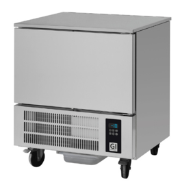 Snelvriezer,  5x GN1/1 of 5x 600x400mm