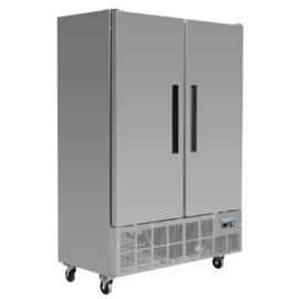 Horeca koeling | Bedrijfskoelkast RVS   960 Liter
