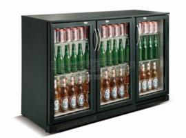 Barkoelkast | Onderbouw koelkast 3 glazen deuren
