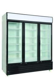 Bedrijfskoelkast | Horeca koelkast met 3 glasdeuren