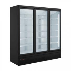 Bedrijfskoelkast Drankkoeling met 3 glazen deuren 1530 Liter