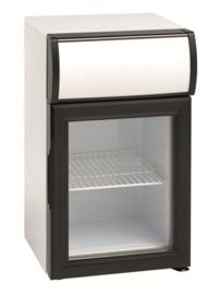 Mini koelkast met glasdeur