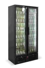 Horeca koelkast met 2 glazen deuren