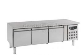 Koelwerkbank RVS  650 Hoog 3 Deuren